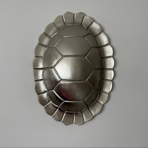 Threshold Casted Metal Turtle Shell Wall Art